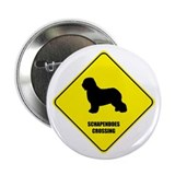 "Schapendoes Crossing 2.25"" Button (10 pack)"
