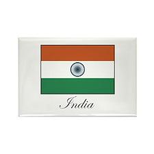 India - Flag Rectangle Magnet