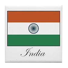 India - Flag Tile Coaster