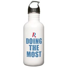 Romney Doing The Most Water Bottle