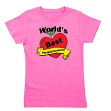 Worlds Best Paraprofessional Girl's Tee