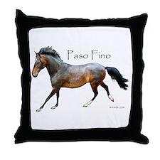 Paso Fino Throw Pillow