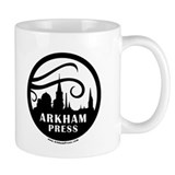 Arkham Press Round Logo Mug
