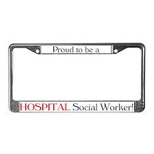 Proud Hospital SW License Plate Frame