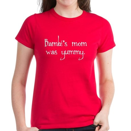 Bambi's Mom Women's Red T-Shirt