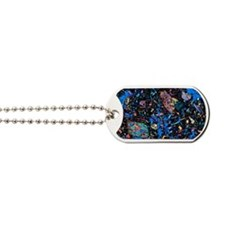 Basalt, thin section, polarised LM Dog Tags