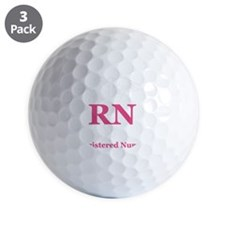 Registered Nurse Golf Ball