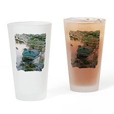 Bullfrog Drinking Glass