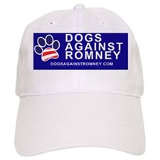 Dogs Against Romney Paw bumper sticker and mag Cap