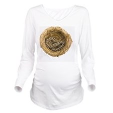 Hognose Snake, Snake Long Sleeve Maternity T-Shirt