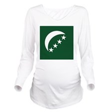 Comores Long Sleeve Maternity T-Shirt