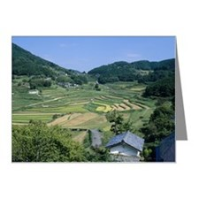 Oohaganishi Terraced Rice Pa Note Cards (Pk of 10)