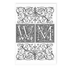 WM, initials, Postcards (Package of 8)