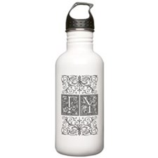 TY, initials, Sports Water Bottle