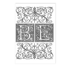 BE, initials, Postcards (Package of 8)