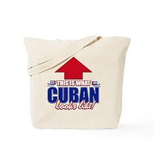 Cuban looks like Tote Bag