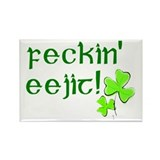 Feckin'Eejit! Rectangle Magnet (10 pack)