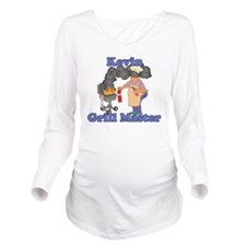 Grill Master Kevin Long Sleeve Maternity T-Shirt
