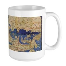 Al-Idrisi's world map, 1154 Coffee Mug