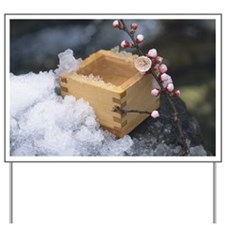 Measure and plum blossoms Yard Sign