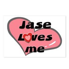 jase loves me  Postcards (Package of 8)