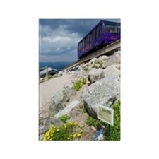 Cairngorm Mountain Railway Rectangle Magnet