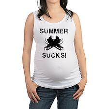 Summer Sucks Maternity Tank Top
