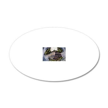 Commitment 20x12 Oval Wall Decal