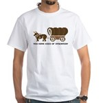 Oregon Trail: You have died o White T-Shirt