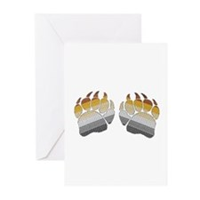 1 SET BEARS PRIDE PAWS Greeting Cards (Package of