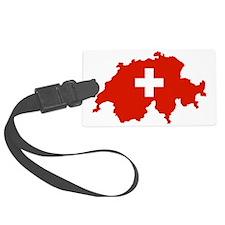 Schweizmit Kreuz Luggage Tag