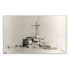 uss assurance large framed pri Decal