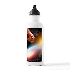 Asteroid strike, artwo Water Bottle