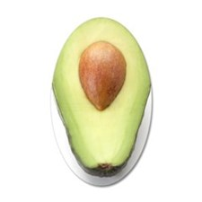 Avocado half Wall Decal