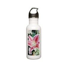 Close-up of lily Stainless Steel Water Bottle