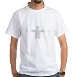 Poi Geek White/Gray T-Shirt