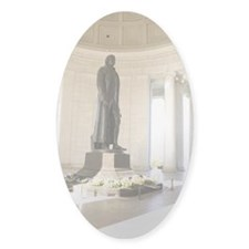 Statue of Thomas Jefferson in the T Decal
