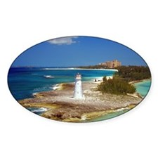 Lighthouse on Paradise Island-Nassa Decal