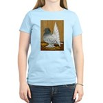 Indian Fantail Pigeon Women's Light T-Shirt