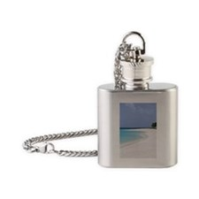 Caribbean, Anguilla, Shoal Bay Flask Necklace