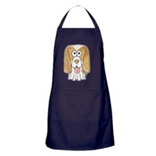 Beagle Puppy Dog. Apron (dark)