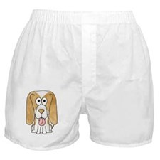 Beagle Puppy Dog. Boxer Shorts