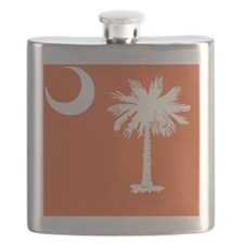 South Carolina Palm... Flask