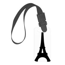 Eiffel Tower Paris Luggage Tag