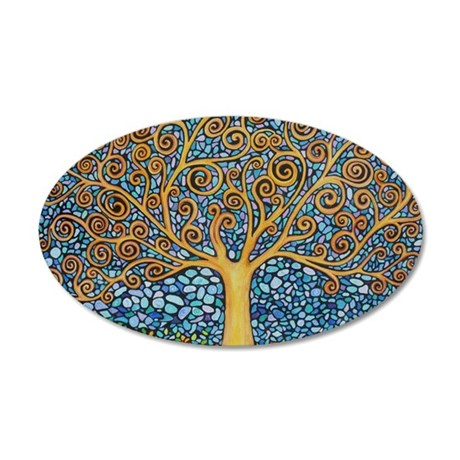 My Tree of Life 35x21 Oval Wall Decal