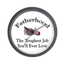 Fatherhood 1 Wall Clock