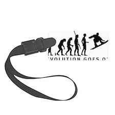 evolution snowboard Luggage Tag