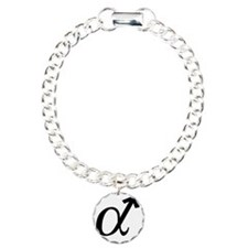 Alpha Male Charm Bracelet, One Charm
