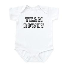 Team ROWDY Infant Bodysuit