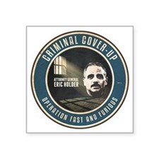 """Fast And Furious Cover-up Square Sticker 3"""" x 3"""""""